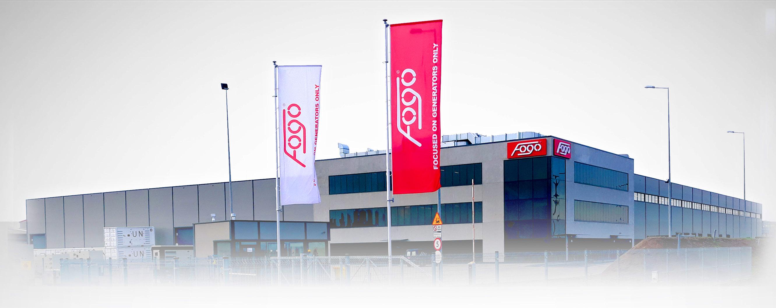 W Mega Agregaty prądotwórcze FOGO WE44
